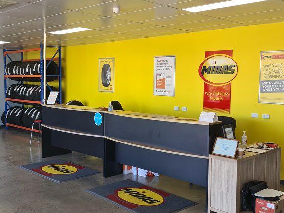 Midas Ballarat Interior