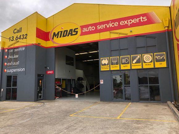 Midas Sunshine Front Entrance